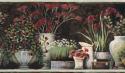 Product: PUR44641B-Floral Still Life Border