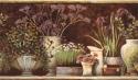 Product: PUR44642B-Floral Still Life Border