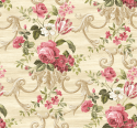 Product: HK80207-Floral Scroll
