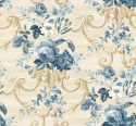 Product: HK80217-Floral Scroll