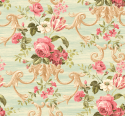 Product: HK80202-Floral Scroll