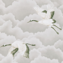 Product: 111230-Cranes in Flight