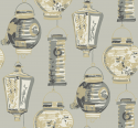 Product: CH71508-Painted Lanterns