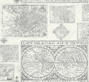 Product: YC61000-Antique Map