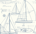 Product: YC61322-Yacht Blueprint