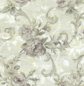 Product: AR31209-Large Floral Scroll