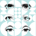 Product: WP20086-Eyes and Circles