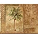 Product: CT46011B-Tropical Palm Trees