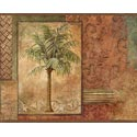 Product: CT46012B-Tropical Palm Trees