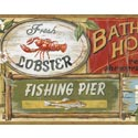 Product: CT46021B-Seaside Beach Signs