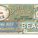 Product: CT46023B-Seaside Beach Signs