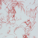 Product: NCW420504-Barbary Toile