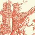 Product: T6342-Pheasant Toile